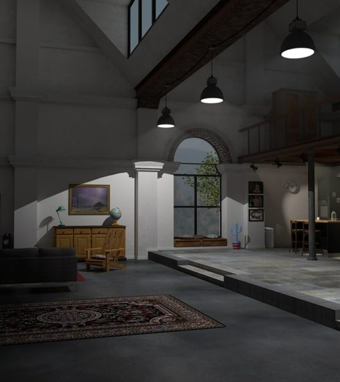 Loft Factory Deco Decoration House  - Amigos3D / Pixabay
