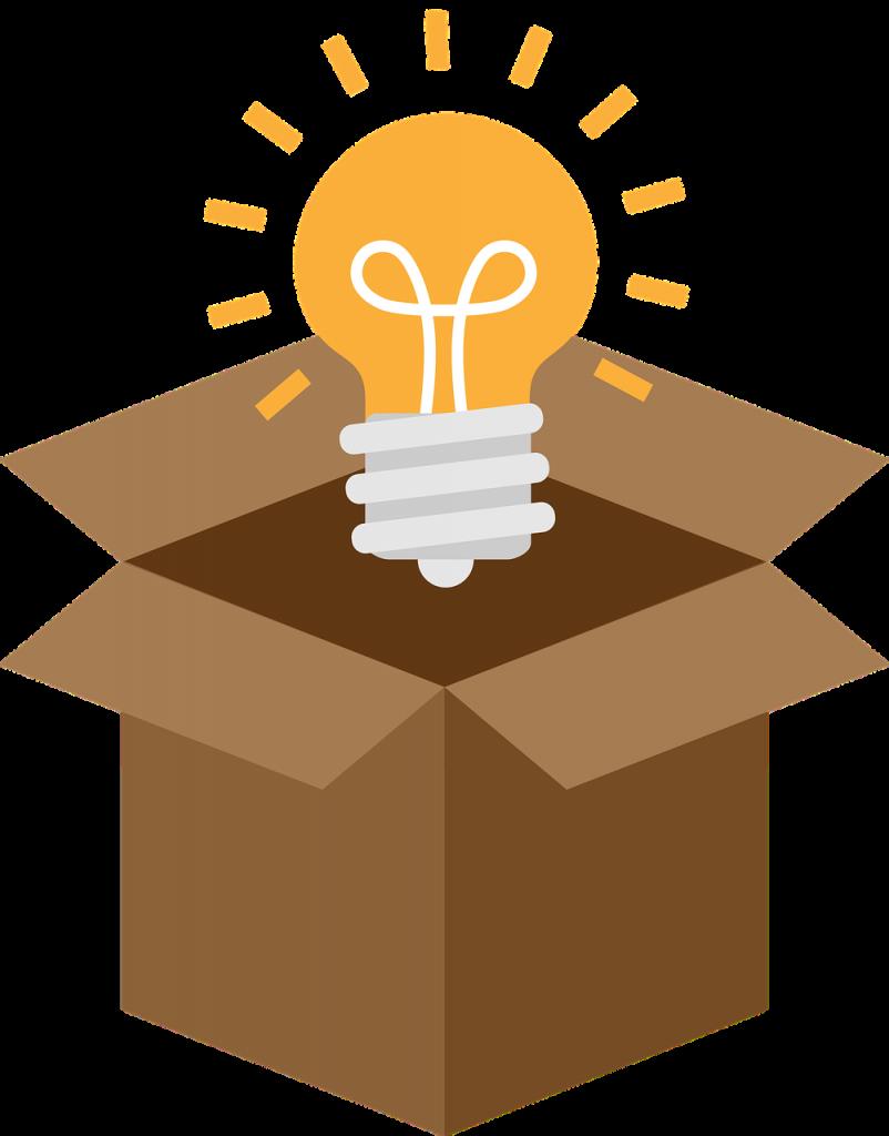 Light Bulb Box Outside The Box - videoplasty / Pixabay