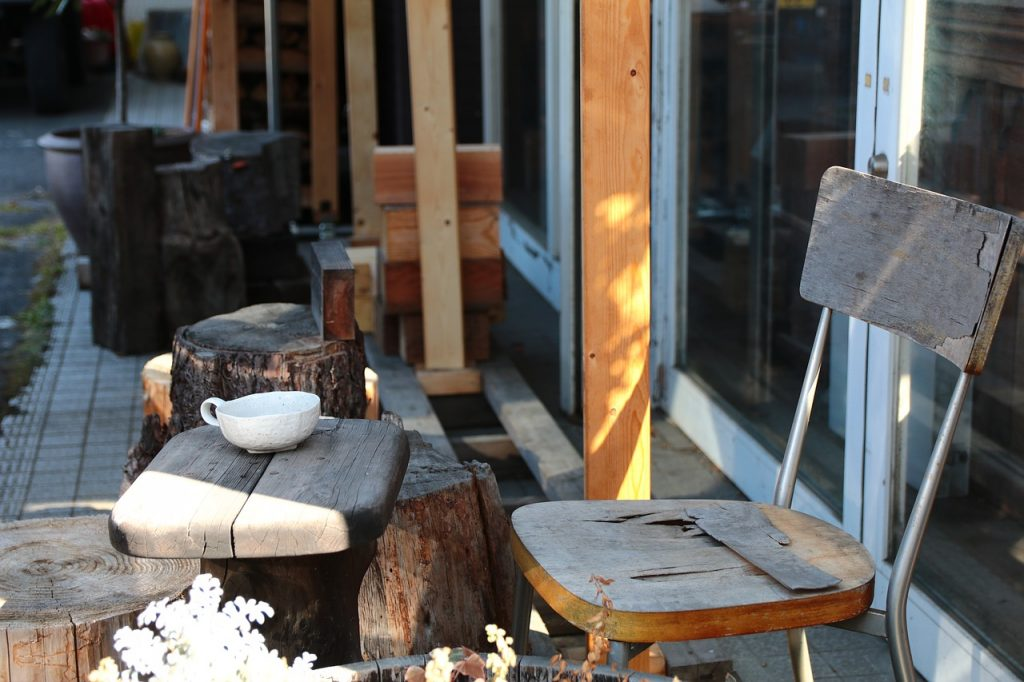 Terrace Chair Table Outside Garden - orange31 / Pixabay