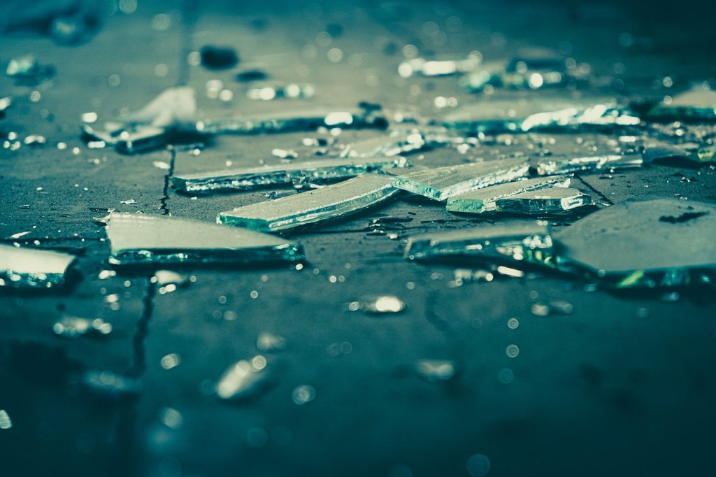 Glass Broken The Destruction Of  - Mitrey / Pixabay